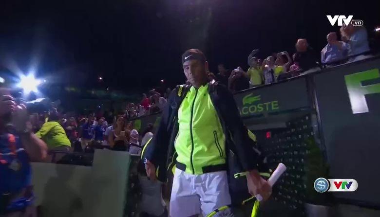 Tứ kết Miami đơn nam mở rộng 2017: Rafael Nadal 2-0 Jack Sock (6/2, 6/3)