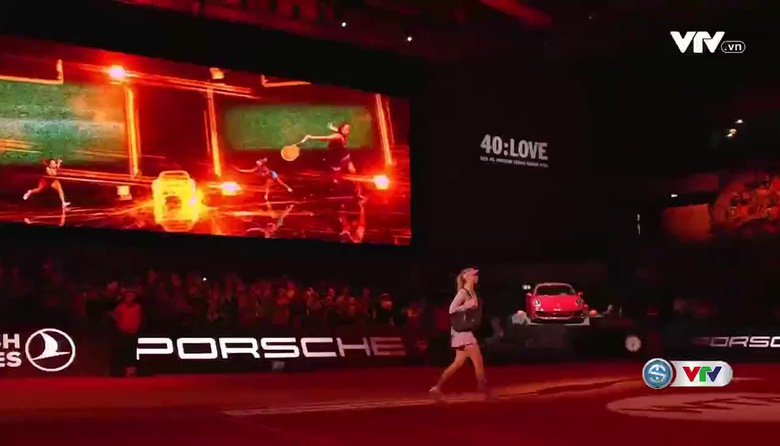 Vòng 1 Stuttgart Open 2017: Sharapova 2-0 Roberta Vinci (7/5, 6/3)