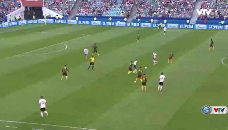 Tổng hợp trận đấu: ĐT Đức 3-1 ĐT Cameroon