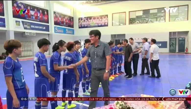 ĐT Futsal nữ Việt Nam tích cực chuẩn bị cho SEA Games 29
