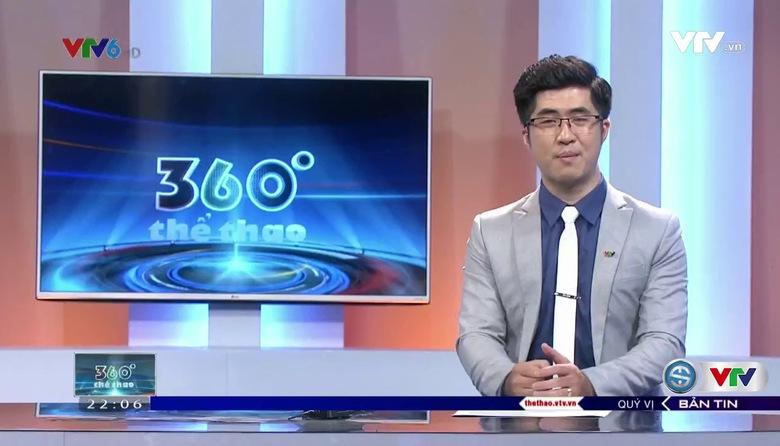 360 độ thể thao - 20/7/2017