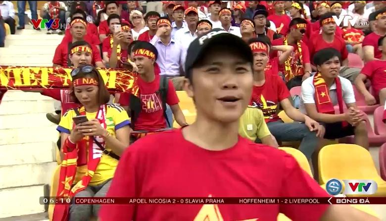 Sức mạnh đến từ các CĐV Việt Nam tại Malaysia