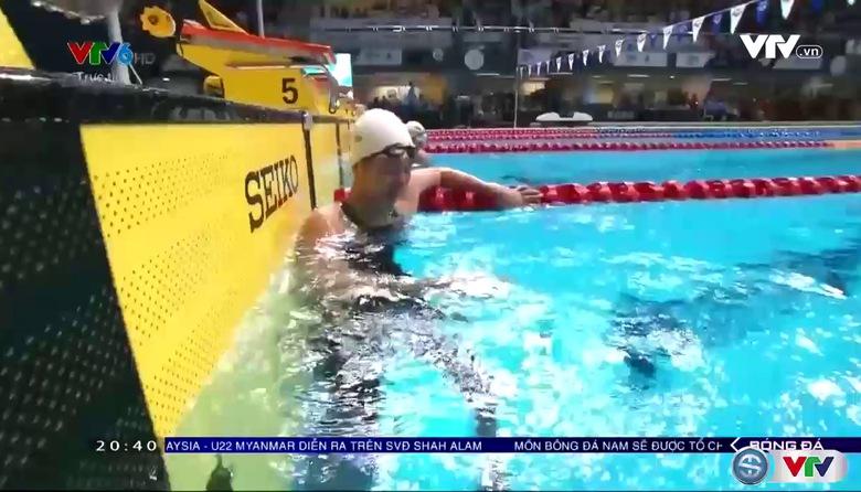 Ánh Viên phá kỷ lục SEA Games, giành HCV nội dung 100m ngửa