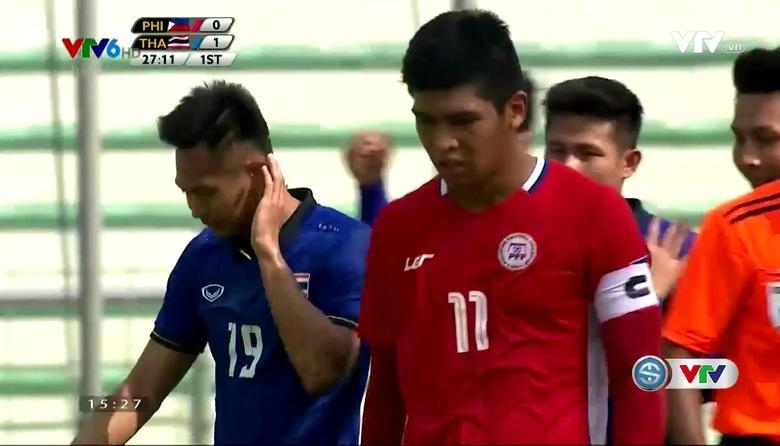 Tổng hợp trận đấu: U22 Philippines 0-2 U22 Thái Lan