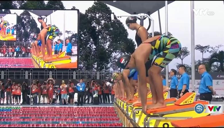 Bơi: Ánh Viên giành HCB 100m tự do nữ