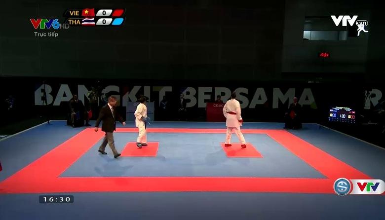 Karatedo: Hồ Thị Thu Hiền giành HCV Kumite dưới 68 kg nữ