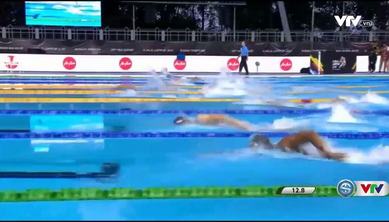 Bơi: Hoàng Quý Phước giành HCB 200m tự do nam