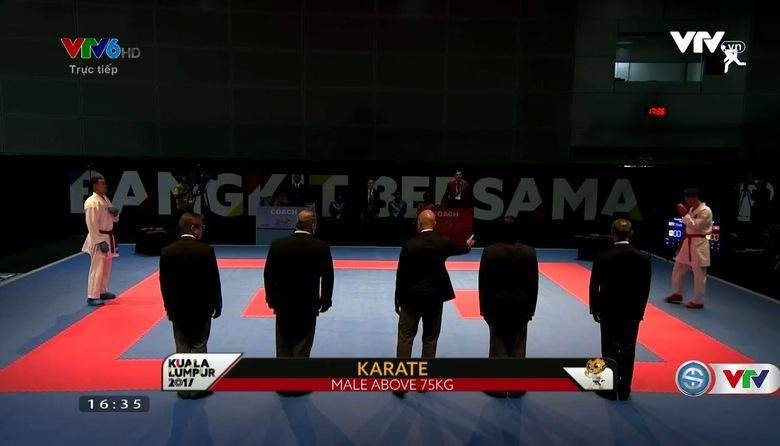 Karatedo: Nguyễn Minh Phụng giành HCV Kumite trên 75kg nam
