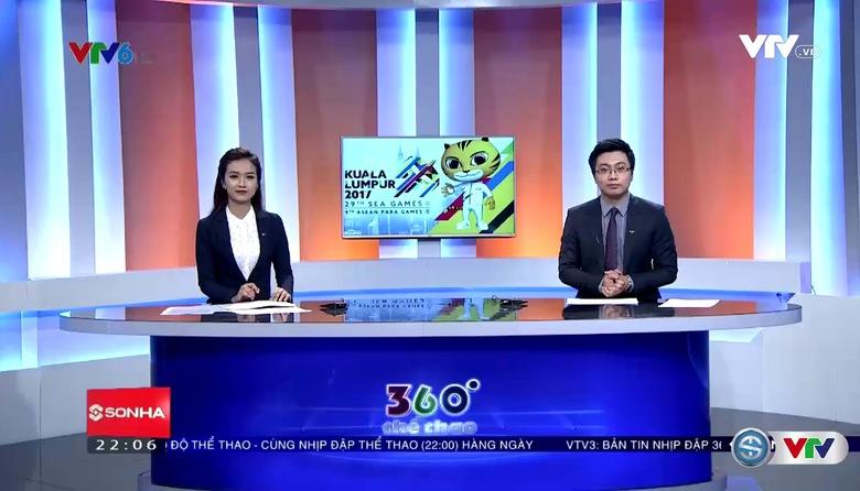 360 độ thể thao - 23/9/2017