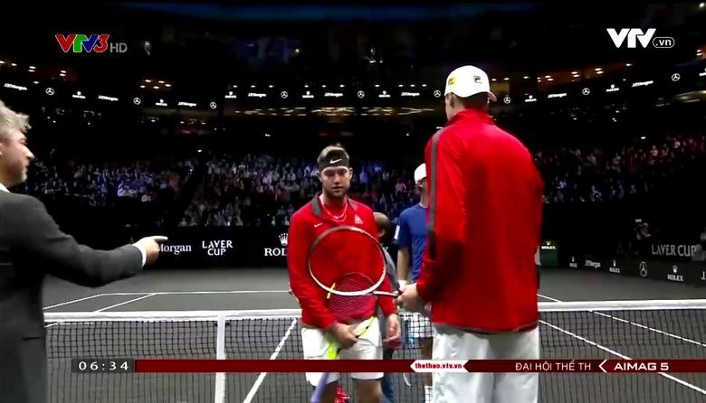 Giải quần vợt Laver Cup: Federer thắng trận quyết định, tuyển châu Âu giành chức vô địch