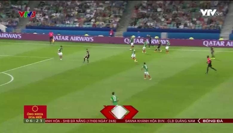 ĐT Mexico ngược dòng đánh bại ĐT New Zealand