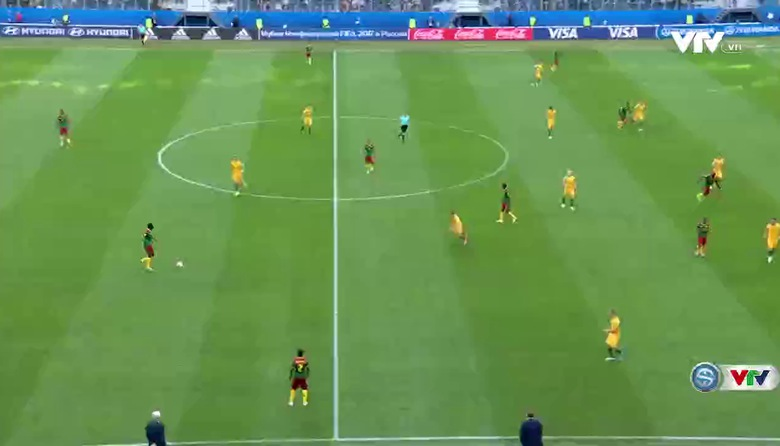VIDEO Highlight: ĐT Cameroon 1-1 ĐT Australia