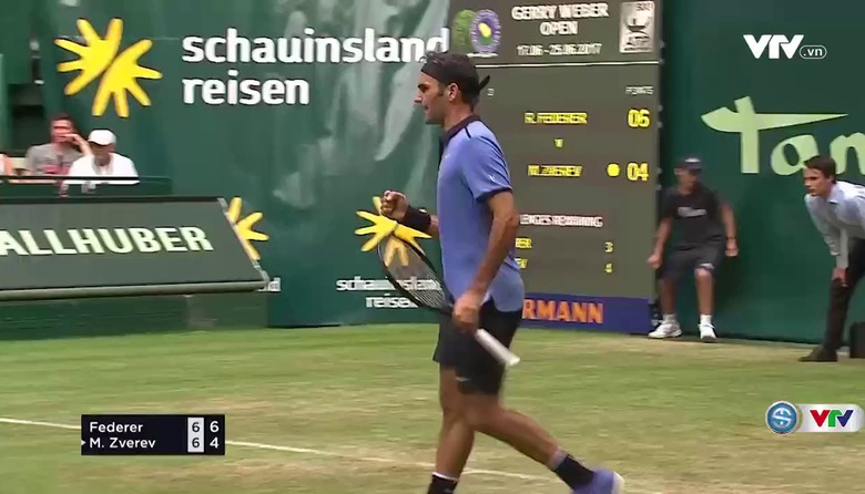 Video highlight: Roger Federer - Mischa Zverev
