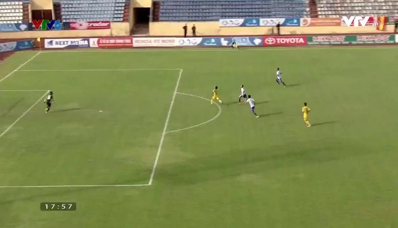 VIDEO tổng hợp trận đấu: CLB Nam Định 3-1 CLB bóng đá Huế