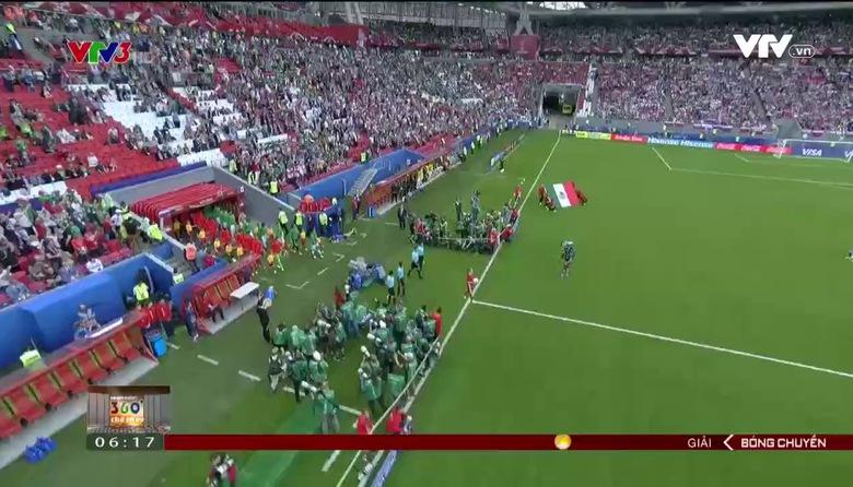 ĐT Nga dừng bước tại vòng bảng
