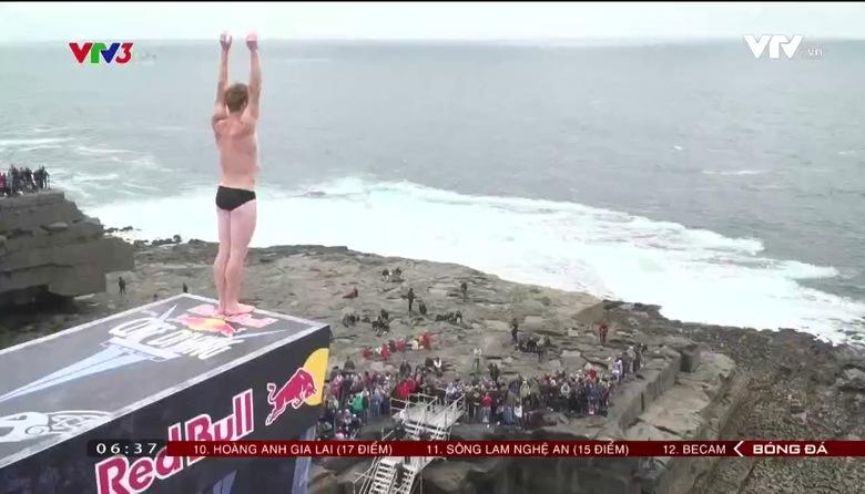Thú vị World Series nhảy vách núi ở CH Ai Len