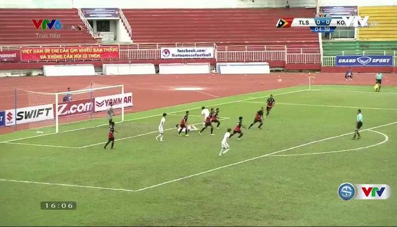 VIDEO Tổng hợp trận đấu U23 Timor Leste 0-0 U23 Hàn Quốc