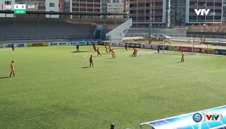 VIDEO Tổng hợp trận đấu U16 Việt Nam 1-3 U16 Australia