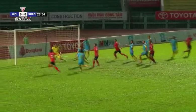 VIDEO Tổng hợp trận CLB Long An 2-2 Sanna Khánh Hòa BVN