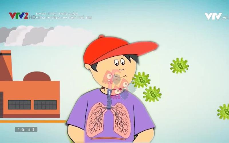 Khỏe thật đơn giản: Viêm đường hô hấp trẻ em